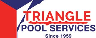 Triangle Pool Service Logo