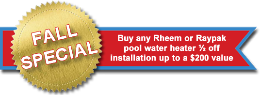 Pool Heater Installation | Triangle Pool Service