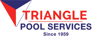 Triangle Pool Service Logo