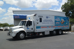 State-Of-The-Art Trucks | Triangle Pool Service